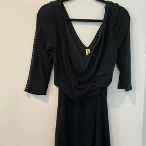 Anthropologie Dress with Attached Cardigan